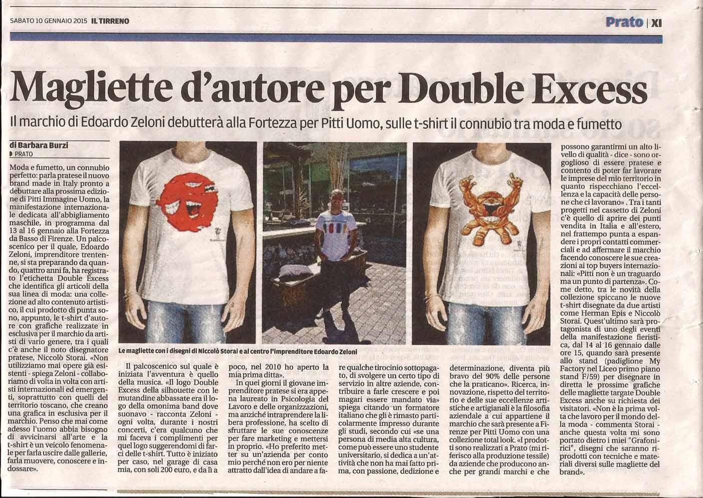 IL TIRRENO Magliette-d'autore-per-Double-Excess-10-01-2015